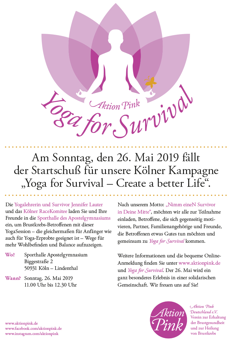 Plakat A3_Yoga for Survival Köln 2019.indd